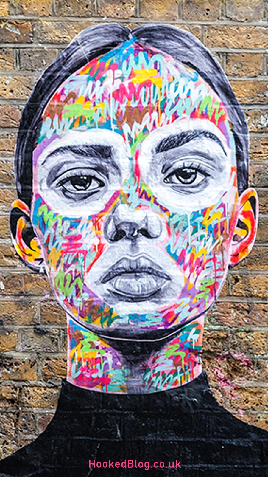 Antcarver, Street Art pasteups in London. Photo ©Hookedblog / Mark Rigney
