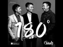 Lirik Lagu Goliath - 180 Derajat