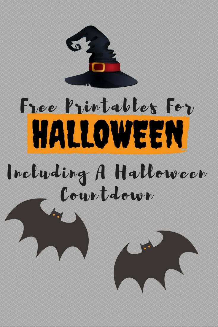free printables for halloween