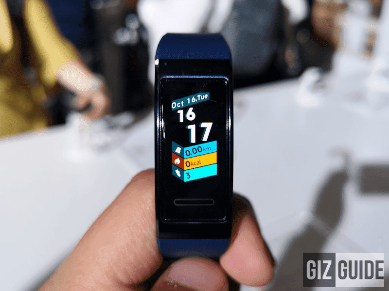 The Huawei Band 3 will be available for only PHP 996 on 12.12