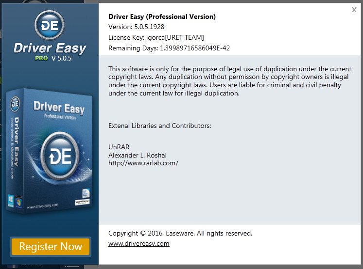 driver easy pro free licence