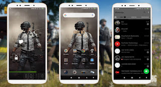 Cara Mengubah Tampilan Xiaomi MIUI 11 Menjadi Tema PUBG Tembus Whatsapp