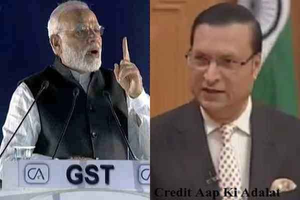 rajat-sharma-prased-modi-government-for-gst-revised-timely-news