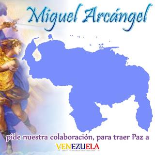 Mensaje del Arcángel Miguel  EL ARCÁNGEL MIGUEL HA ENARBOLADO LA BANDERA DE VENEZUELA PARA LLEVARLA A LA BATALLA FINAL DONDE REINE LA PAZ, LA JUSTICIA Y LA DEMOCRACIA. Palabras de un arcángel,