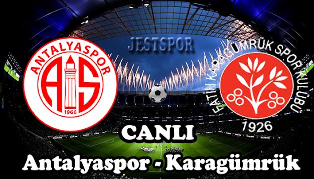 Antalyaspor - Fatih Karagümrük Jestspor izle