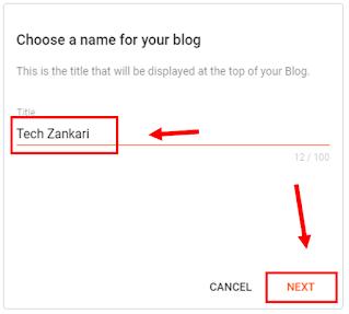 Create title blog