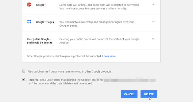 adalah media sosial yang dikembangkan oleh Google Cara Mudah Menghapus Akun Google+