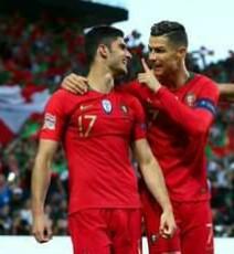 Cristiano Ronaldo Celebration In 2019 UEFA Nations Cup