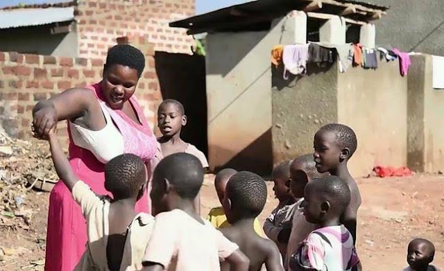 Breaking.... UGANDAN WOMAN WHO HAD 44 BIOLOGICAL CHILDREN WITH ONE MAN