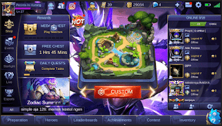 Script Background Mobile Legend