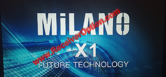 MILANO X1 1506TV 512 4M NEW SOFTWARE WITH ECAST & DIRECT BISS KEY ADD OPTION