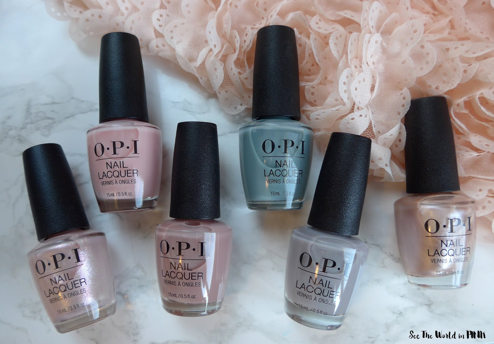 OPI Always Bare For You - Spring 2019 Neutral Polish Collection