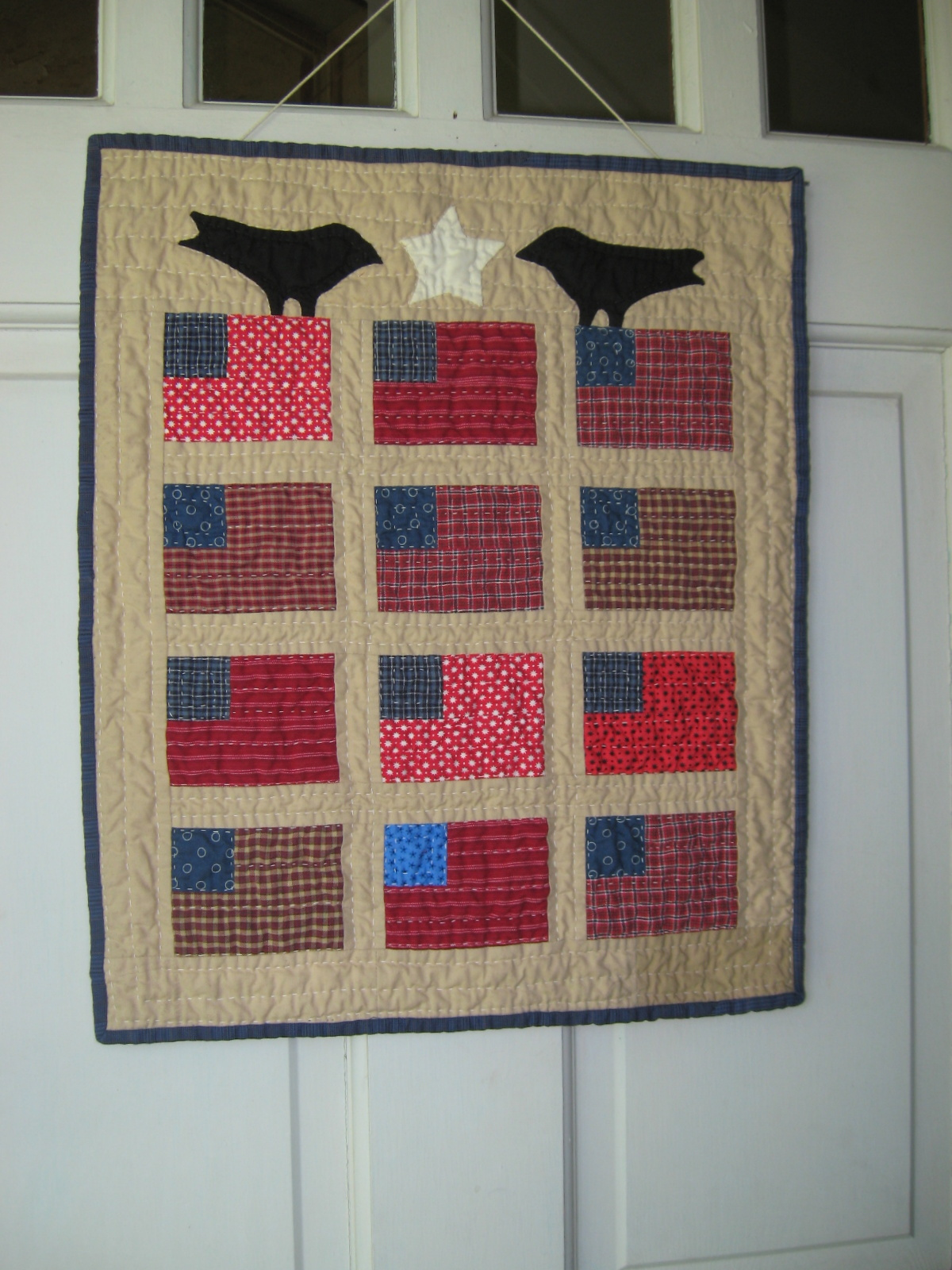 Joy for grace for Front door quilt pattern