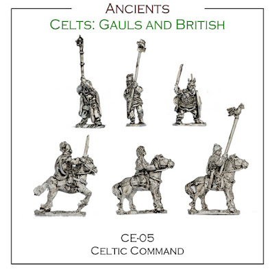 CE-05 Celtic Command - (30+ Figs)