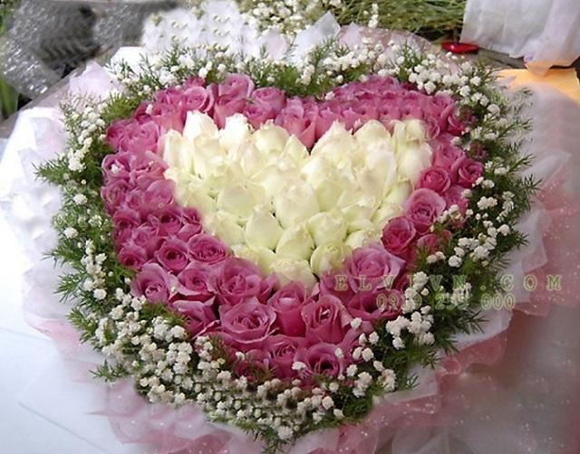 Những bó hoa hồng đẹp dành tặng sinh nhật bạn gái 3