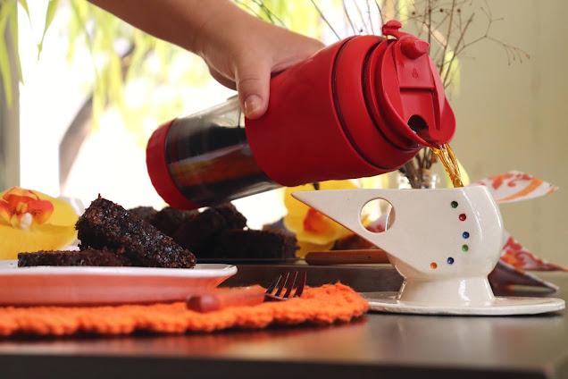 Café com Leite Cremoso e Canela