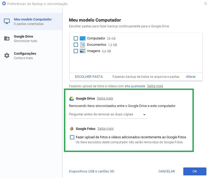 google-drive-e-fotos-sincronizar