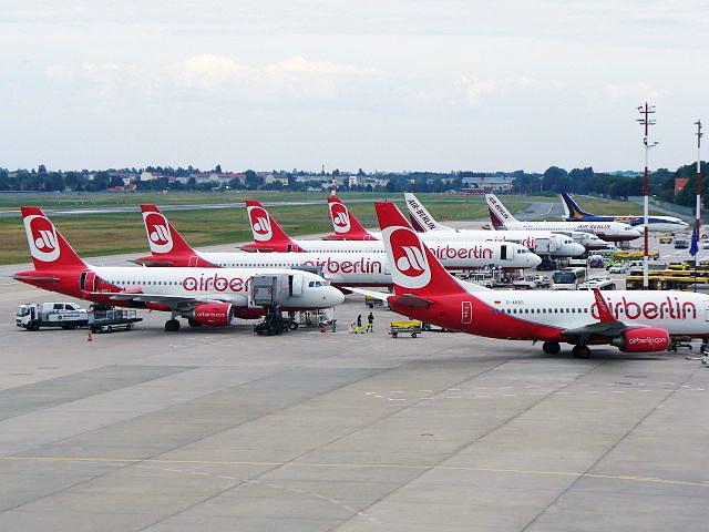 De avião de Munique a Berlim