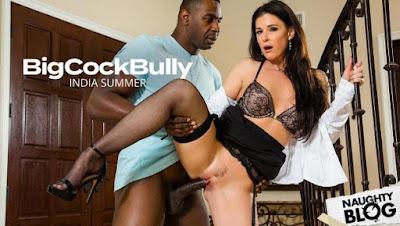 Big Cock Bully – India Summer fucks a big black cock (2020/FULLHD)