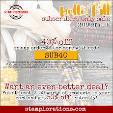 STAMPlorations Sept Sale