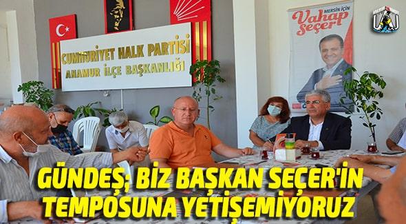 CHP ANAMUR,Mersin Büyükşehir Belediyesi Basın Daire Başkanı Bedrettin Gündeş,Anamur Haber,