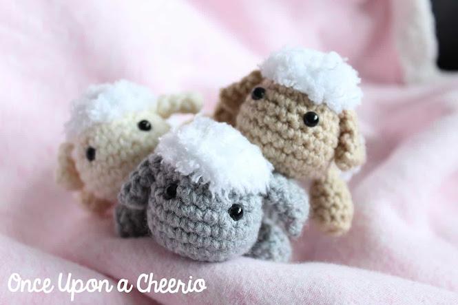 Mini Crochet Sheep Amigurumi