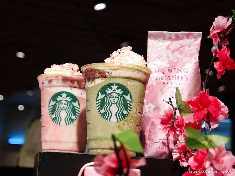 Starbucks Malaysia Spring Sakura Beverages