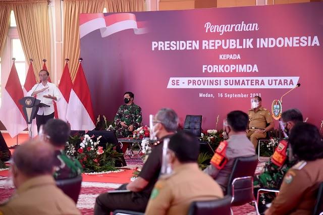 Presiden Jokowi Minta Daerah di Sumut Segera Habiskan Stok Vaksin