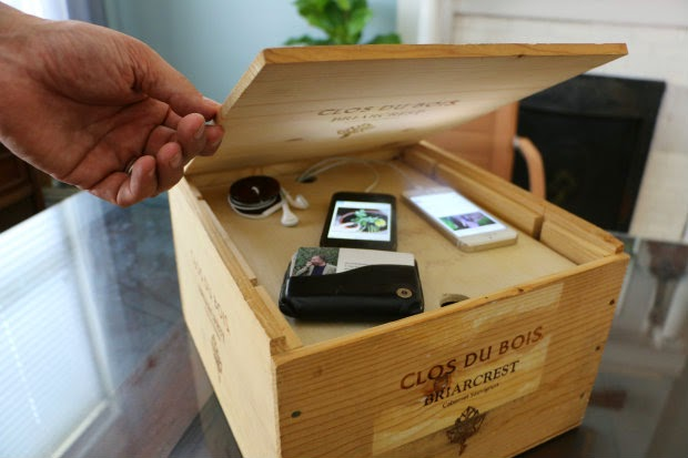 Organize and Hide Your Electronics - Create a Charging System Out of a Wine Crate