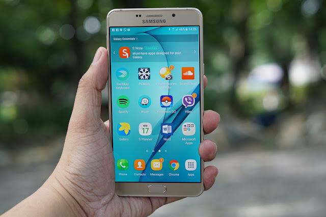 Cara Mengambil Screenshot di Samsung Galaxy A9 Tanpa Aplikasi