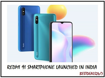 Redmi 9i Smartphone Launched in India