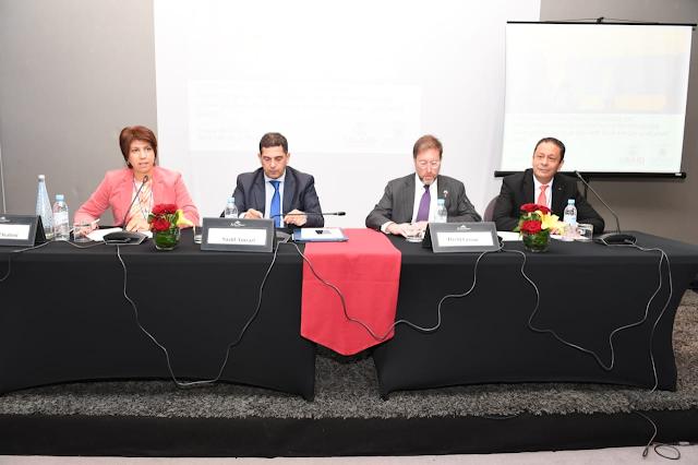 الجلسة الافتتاحية للمؤتمر الدولي الثاني حول القرائية والرياضيات في مستويات سلك التعليم الابتدائي بمنطقة الشرق الأوسط وشمال أفريقيا
