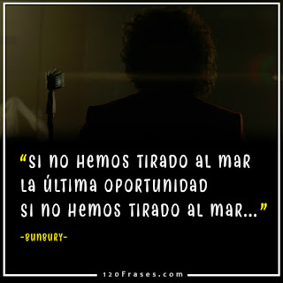 "bunbury en su video ""hombre de accion"" mas fragmento de la letra"