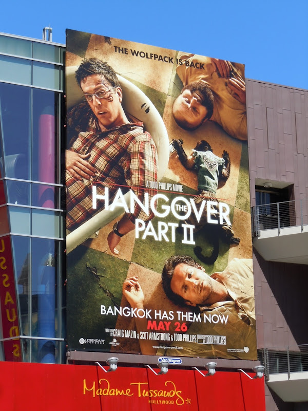 The Hangover Part II bathtub billboard