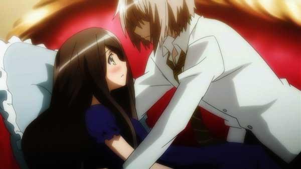Dansai Bunri No Crime Edge - Anime romance perempuan pendek lelaki tinggi