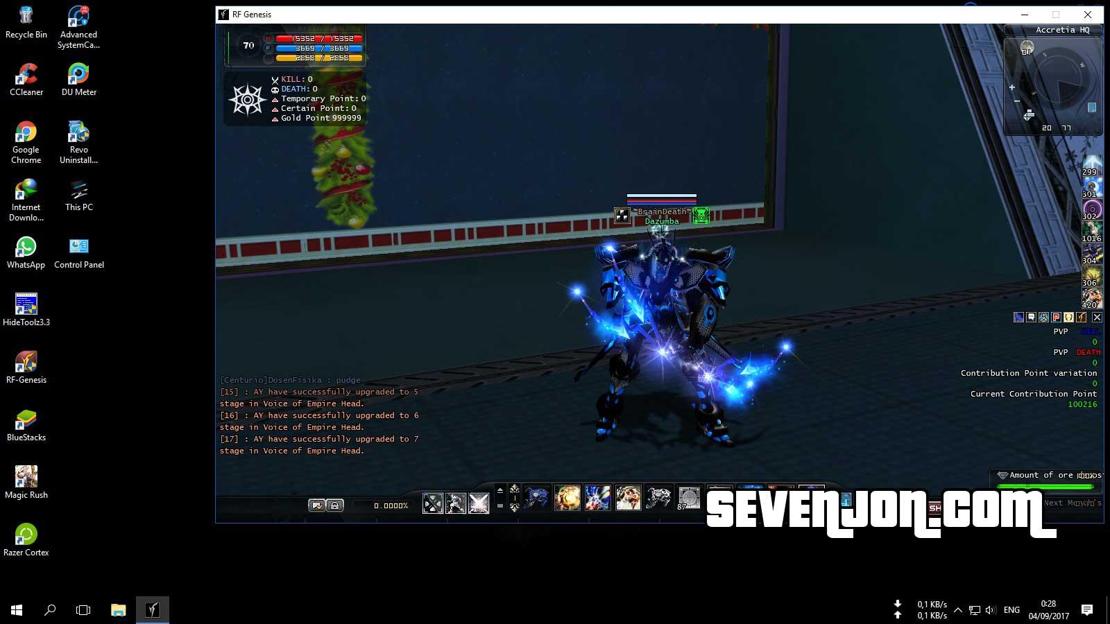 Dual Login RF Online Step 4