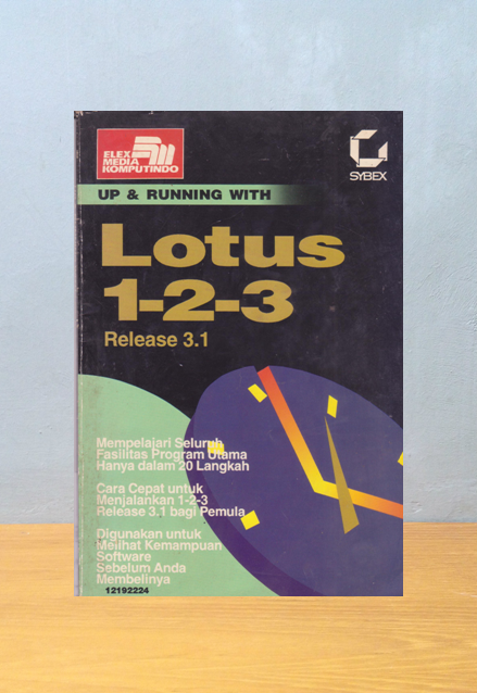 UP & RUNNING WITH LOTUS 1-2-3 RELEASE 3.1, David Krassner