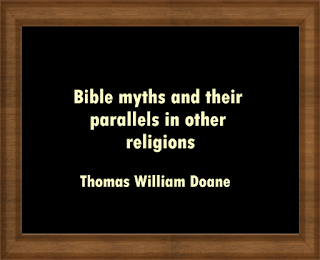 Bible myths and their parallels in other religions
