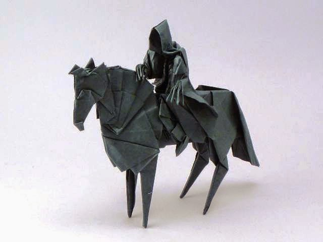 Difficult Origami Diagram