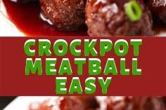 CROCKPOT MEATBALL EASY