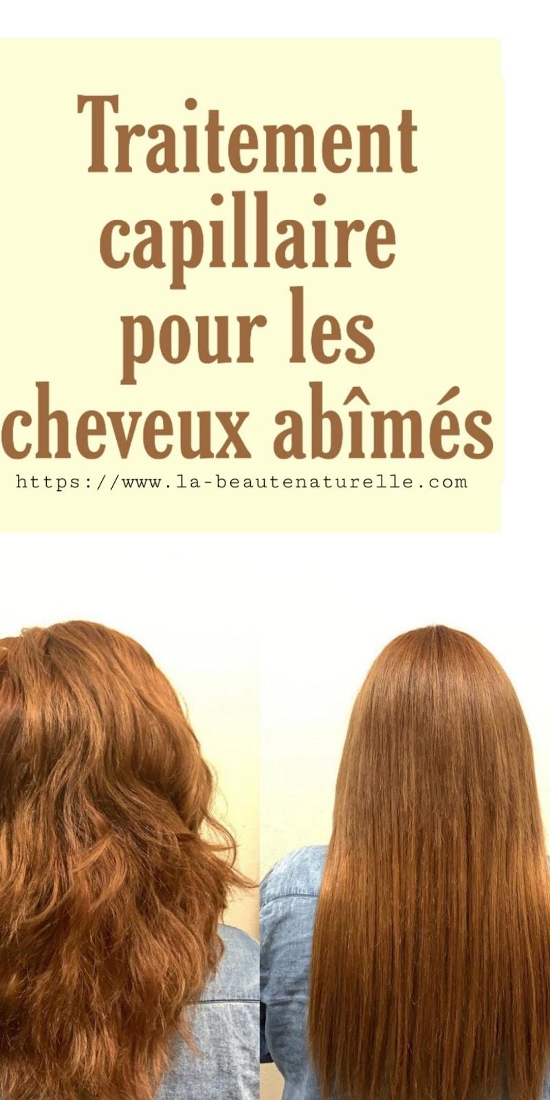 Traitement capillaire pour les cheveux abîmés