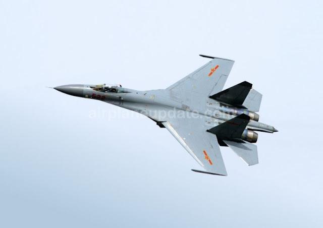 Shenyang J-11 Fighter Jet