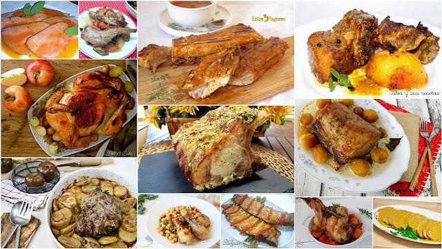 Deliciosos asados de carne. Julia y sus recetas