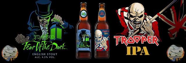 Las Cervezas de Iron Maiden.
