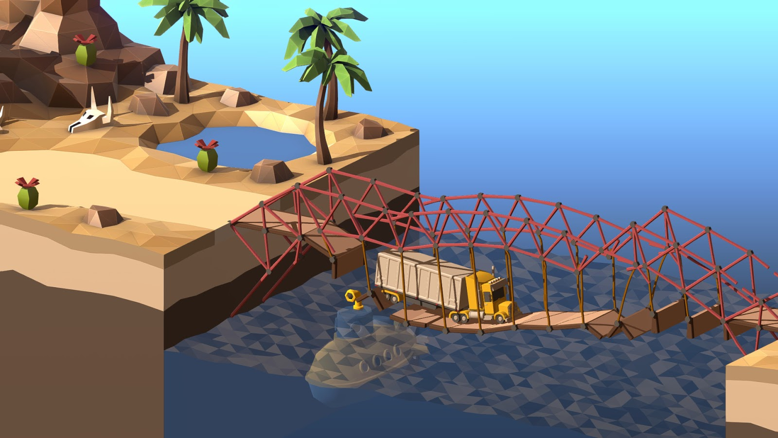 Poly Bridge 2 Yeni Özellikleriyle Tekrar Steam'de
