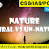 Universe – Natural Vs Unnatural | Complete Essay with Outline | Essayspedia