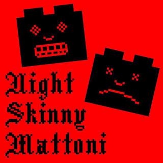 """Copertina di """"Mattoni"""", il quarto album di Night Skinny"""