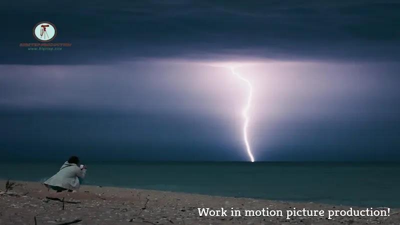 العمل في إنتاج الأفلام السينمائية!
