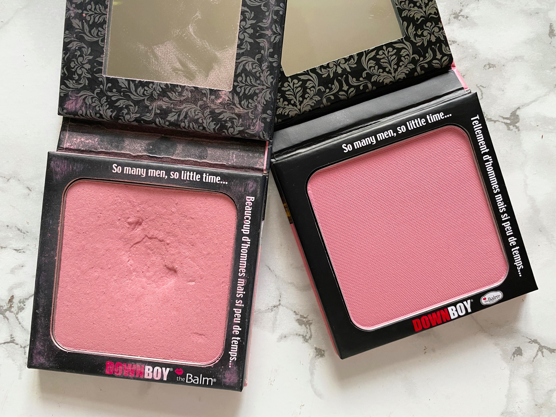 the balm down boy blush blusher review