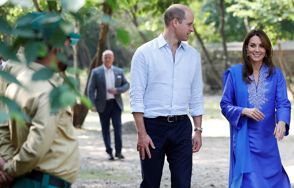 Kate and William begin Day 1 of their Royal Tour of Pakistan